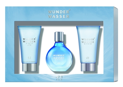 4711 Wunderwasser Woman Eau De Cologne 50ml + Showergel 75ml + Bodylotion 75ml