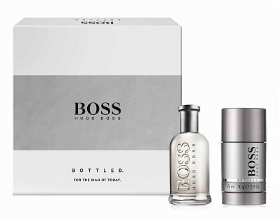 Hugo Boss Bottled Geschenkset Eau De Toilette 50ml + Deostick 70gram
