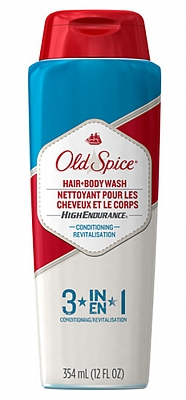 Old Spice Body Wash High Endurance 3 In 1