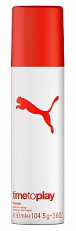 Puma Time To Play Woman Deodorant Deospray 150ml