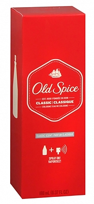 Old Spice Eau De Cologne Classic Scent Spray