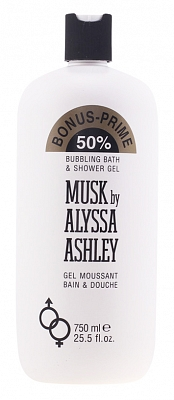 Alyssa Ashley Musk Bath And Showergel