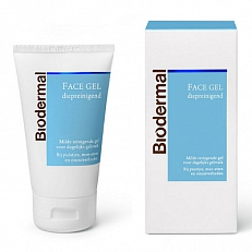 Biodermal Face Gel Diepreinigend 100ml