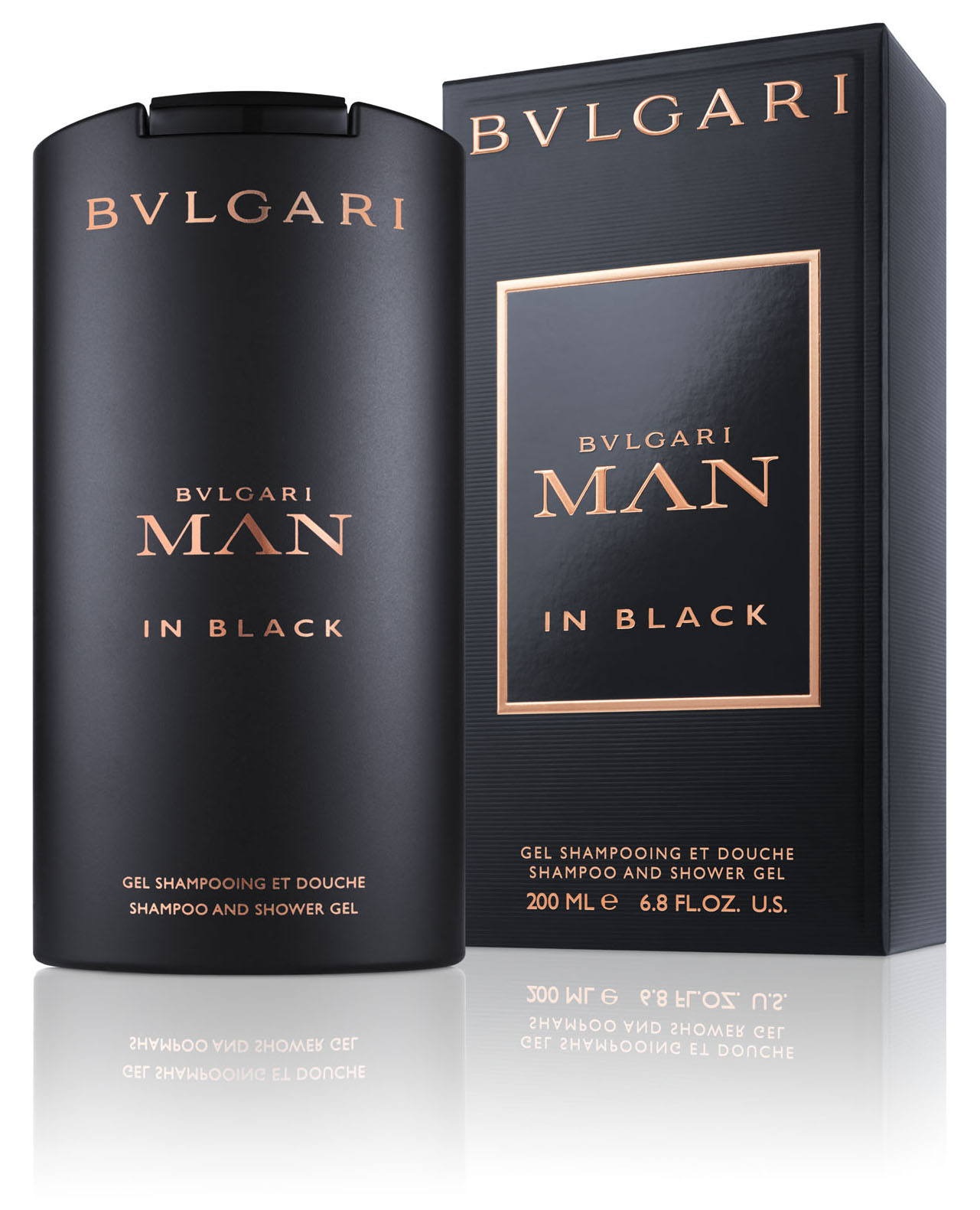 Bvlgari Black Man In Black Shampoo & Showergel 200 ml