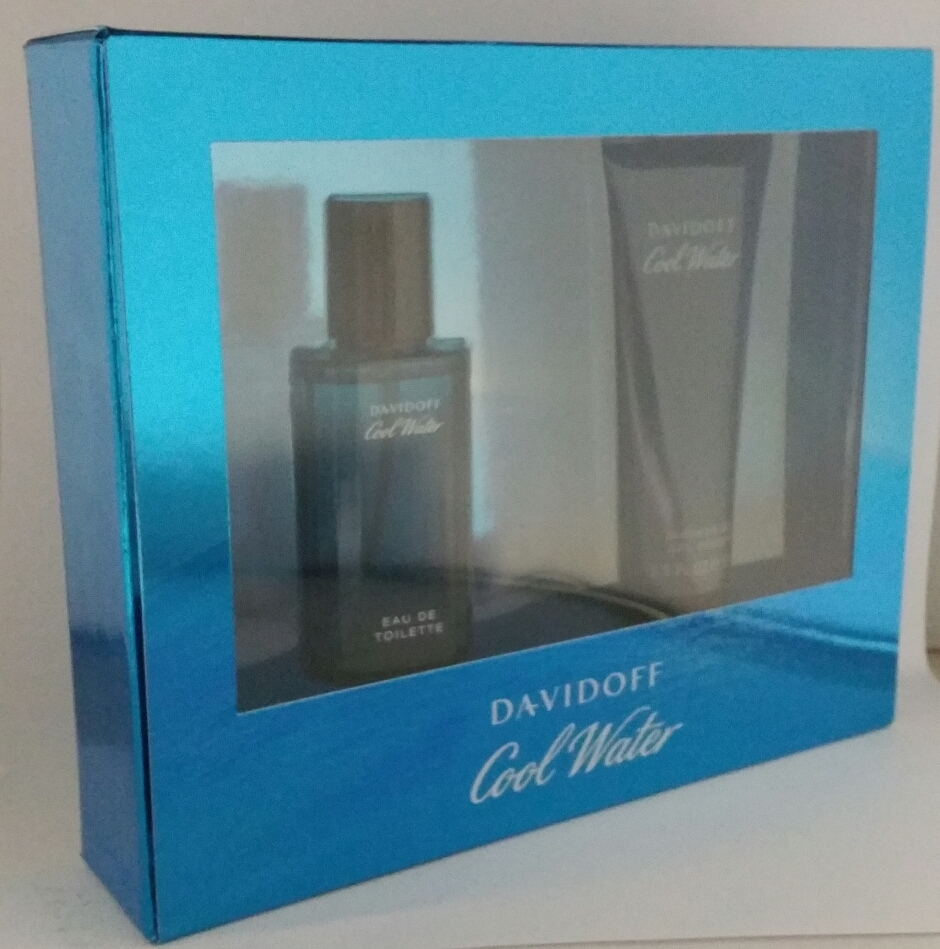 Davidoff Cool Water Homme Cadeauset EDT+douchegel