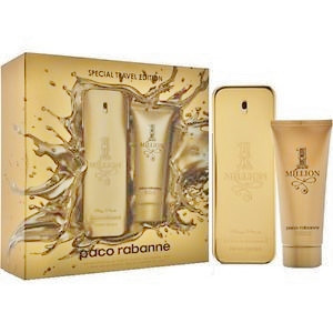 Paco Rabanne 1 Million Men giftset 80ml eau de toilette + 100ml Body Lotion