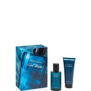 Davidoff Coolwater Giftset Coolwater MAN EAU DE Toilette 40ML + Showergel 75ML